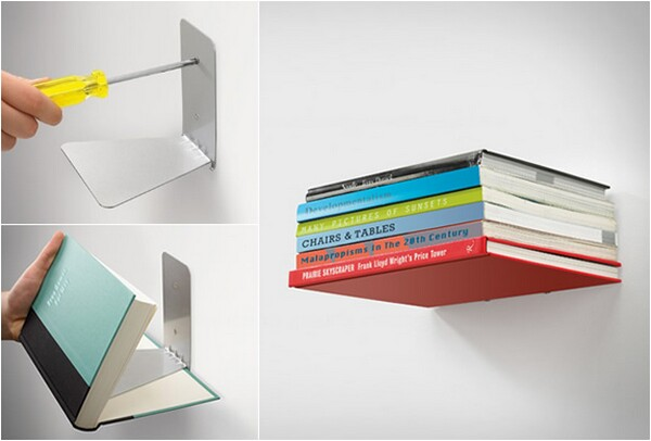 conceal wall bookshelf