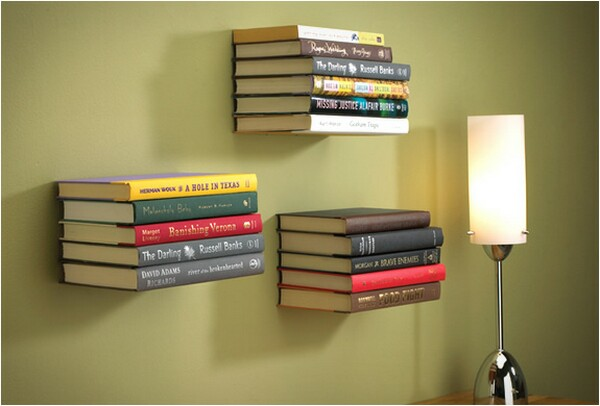 invisible wall bookshelf