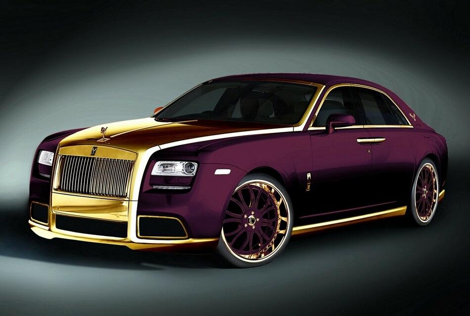 2012 Rolls Royce Ghost Quot Paris Purple Quot By Fenice Milano