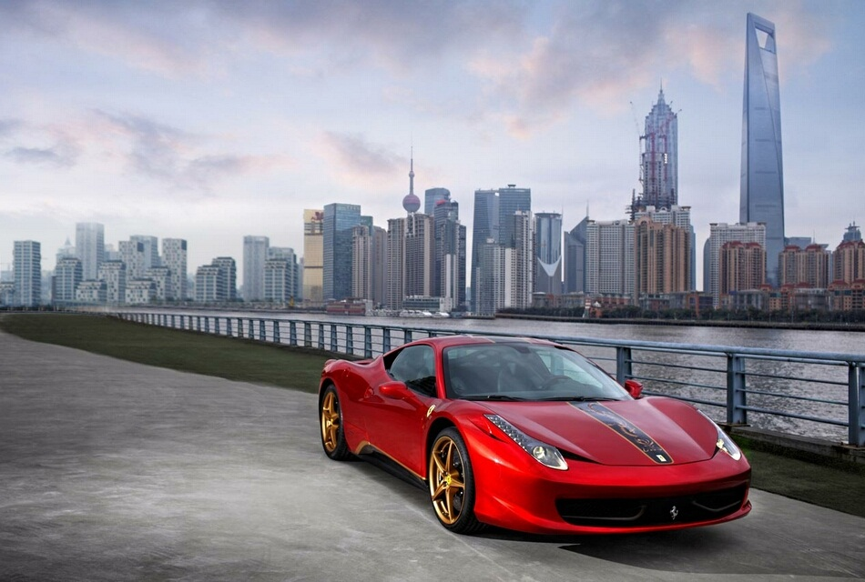 Ferrari 458 Italia Special Edition for China (1)