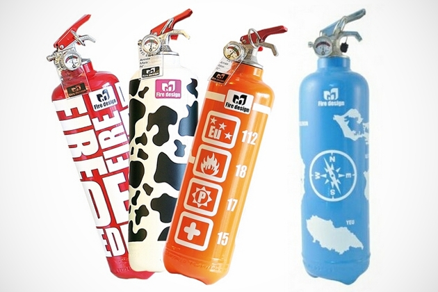 Fire Design - Decorative Fire Extinguishers (3)