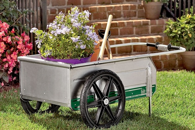 folding garden cart lowes Gardenxcyyxhcom