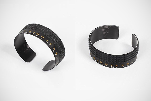Recycled camera focus lens cuff