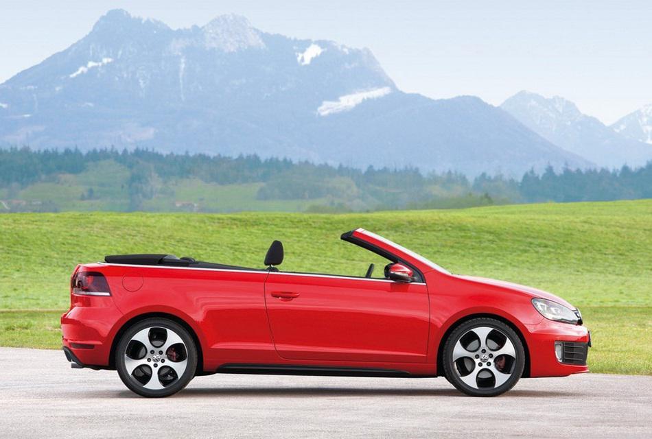 Volkswagen 2013 Golf GTI Cabriolet Convertible Car (2)