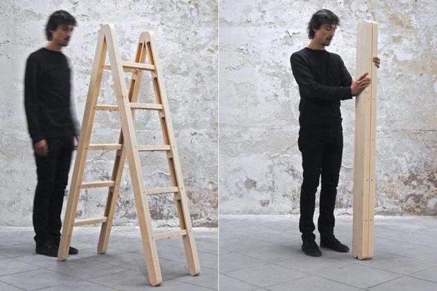 Folding ladder for home