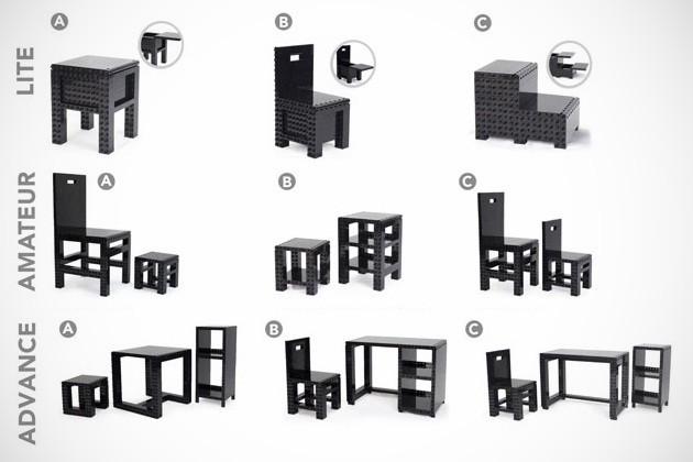 DIY Building Blocks Furniture (1)