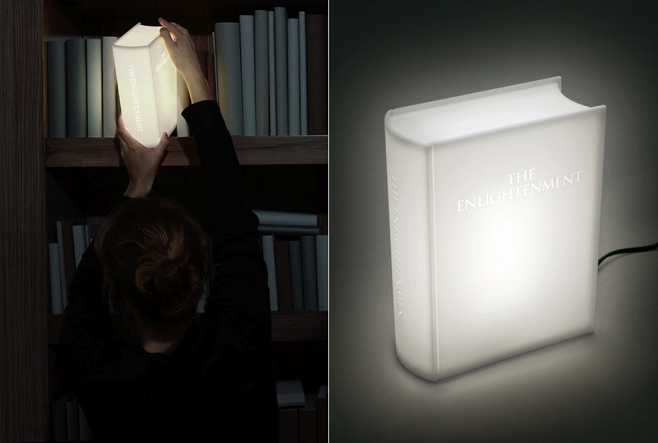 Enlightenment LED Book Lamp