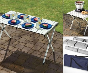 Expandable Portable Outdoor Table