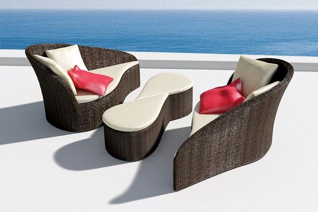 Beautiful Fiore Sofa Set (4)