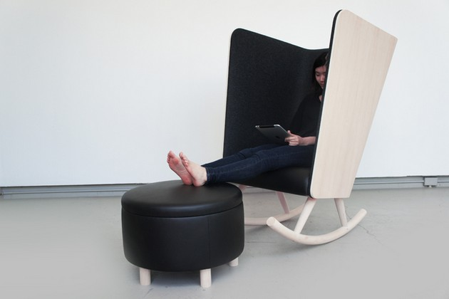 Creative Private Rocker Chair Design