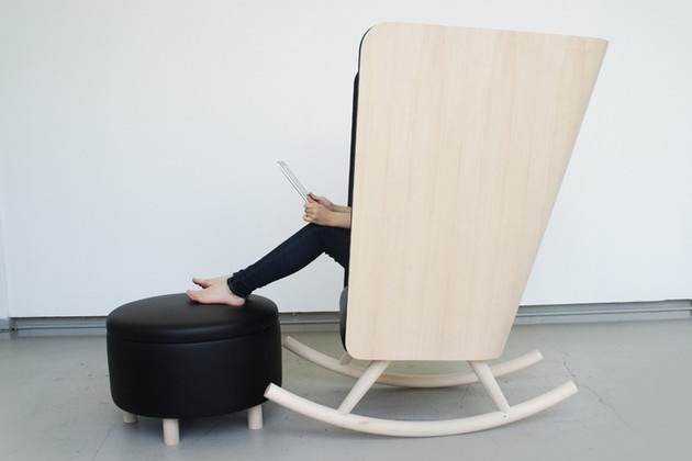 Creative Privacy Rest Chair