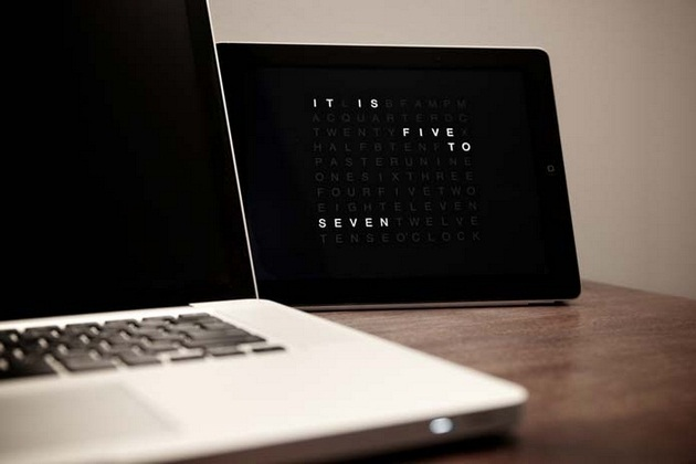 QLOCKTWO Clock App for iPhone and iPad