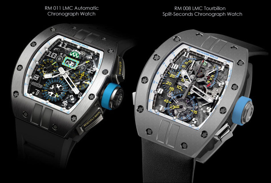 Richard Mille Le Mans Classic 2012 Rm008 And Rm011