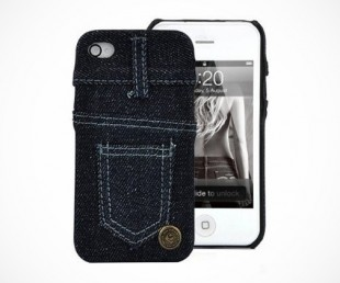 Skinny Jeans New York Style Case Cover For iPhone 4 and 4S
