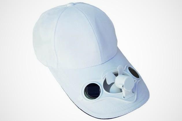 Solar Powered Fan Hat