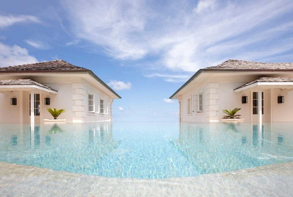 Sunrise House Macaroni Beach of Caribbean island of Mustique, West Indies (2)
