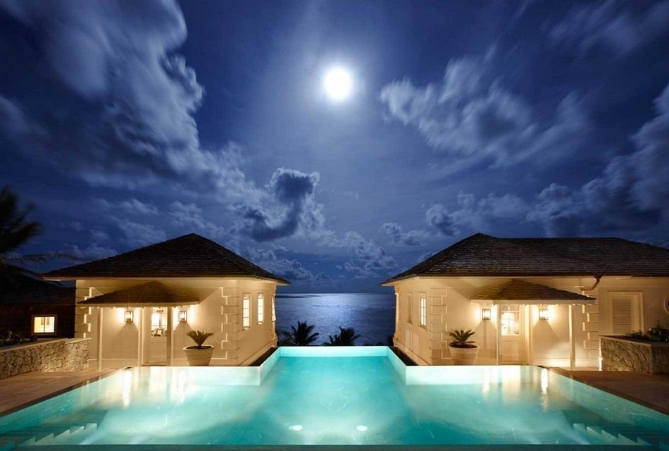 Sunrise House Macaroni Beach of Caribbean island of Mustique, West Indies (10)