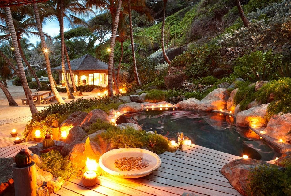 Sunrise House Macaroni Beach of Caribbean island of Mustique, West Indies (8)