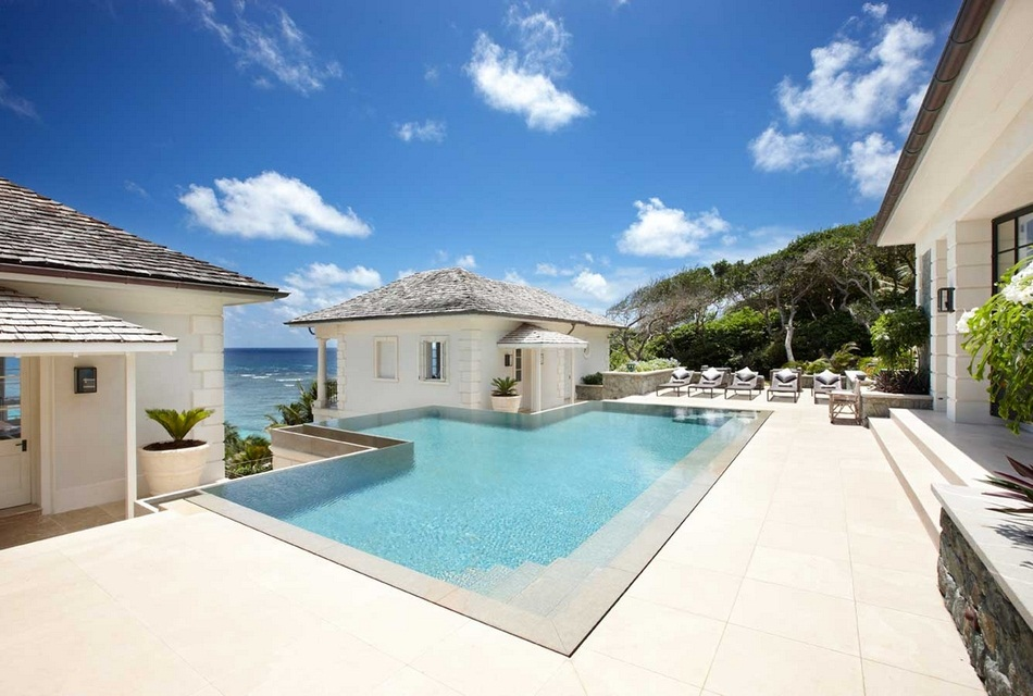 Sunrise House Macaroni Beach of Caribbean island of Mustique, West Indies (3)