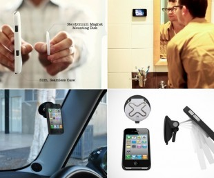 Wallee M - Modular Magnetic Phone Mounting System