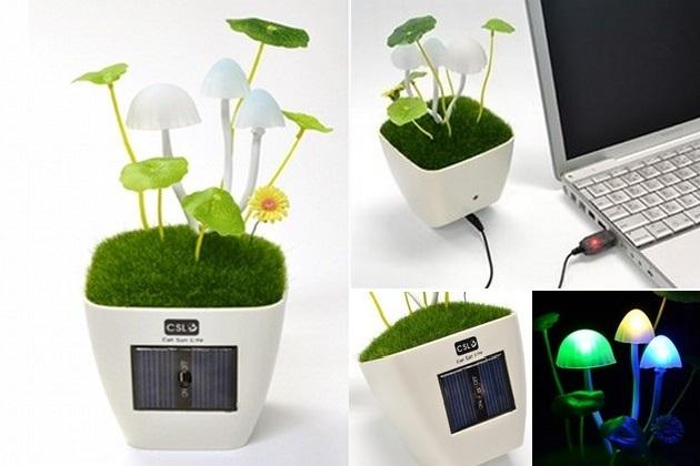 Kinoko Mushroom USB Desk Lamp