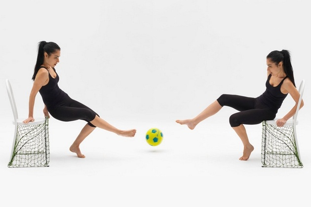 Ordinaire Lazy Football Chair By Emanuele Magini (2)