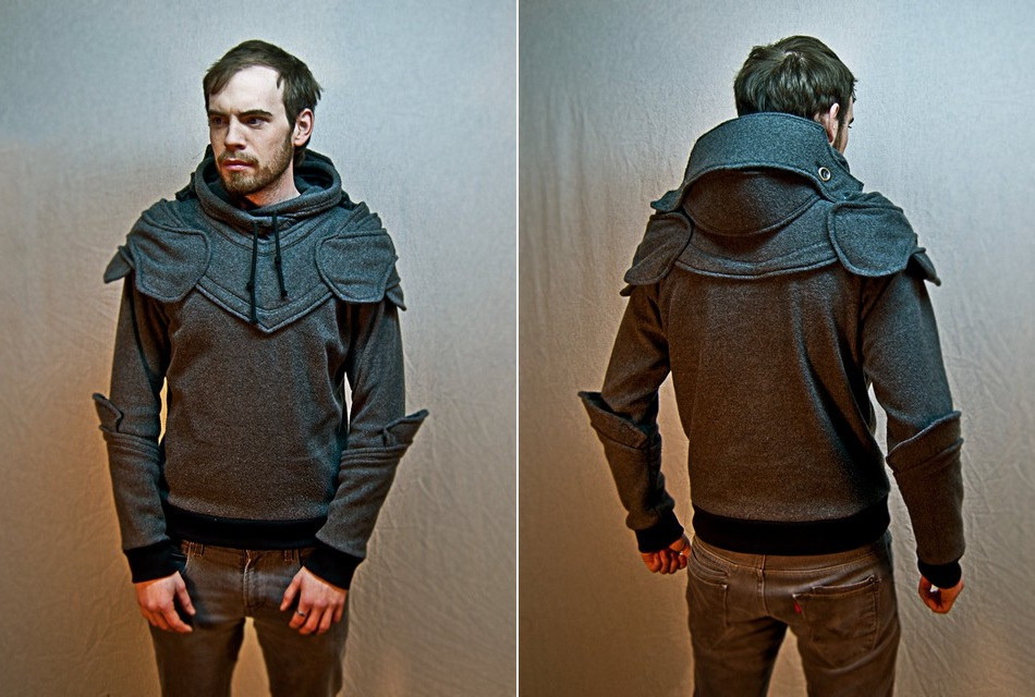 Suit of armor hoodie \u2013 Cheap clothing stores
