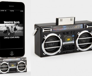 Mini Boombox MP3 iPhone Speaker