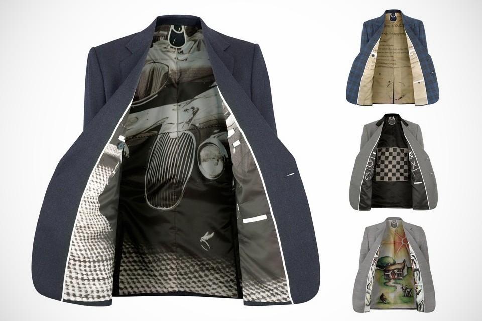 Custom Suit Lining