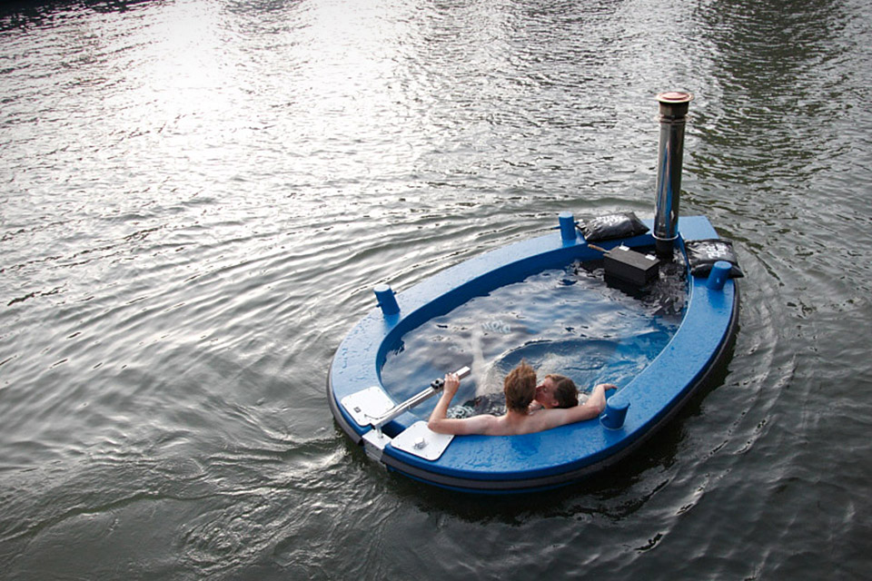 HotTug Floating Jacuzzi