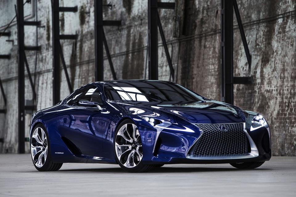 Lexus LF-LC Blue Concept Car (2)