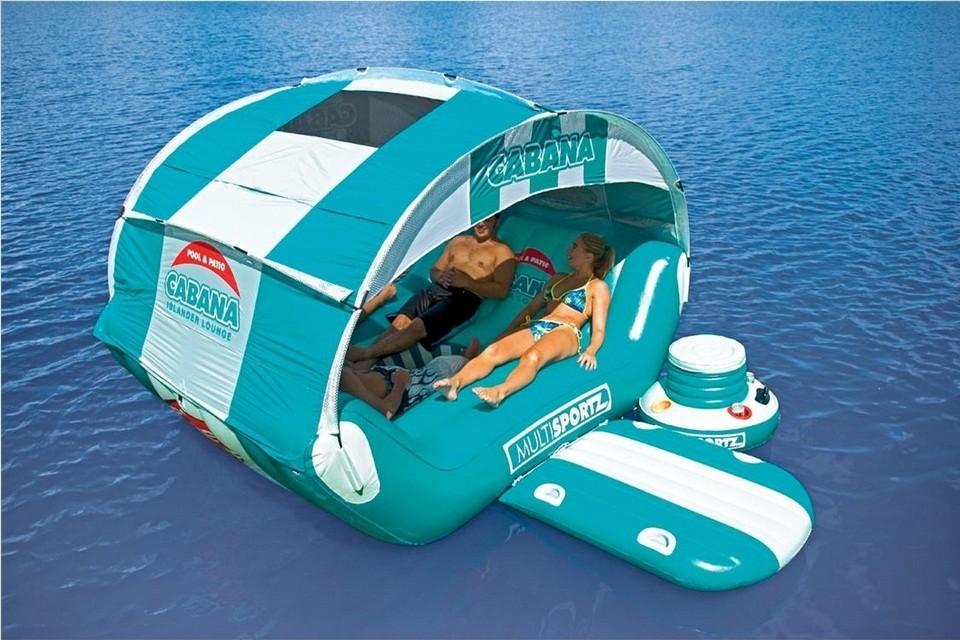 Coolest Toys For Adults : Cabana islander floating lounge bonjourlife