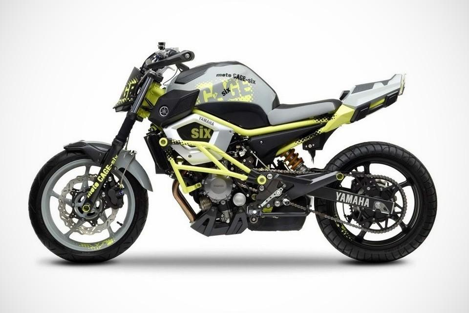Yamaha Moto Cage Six Concept Bonjourlife