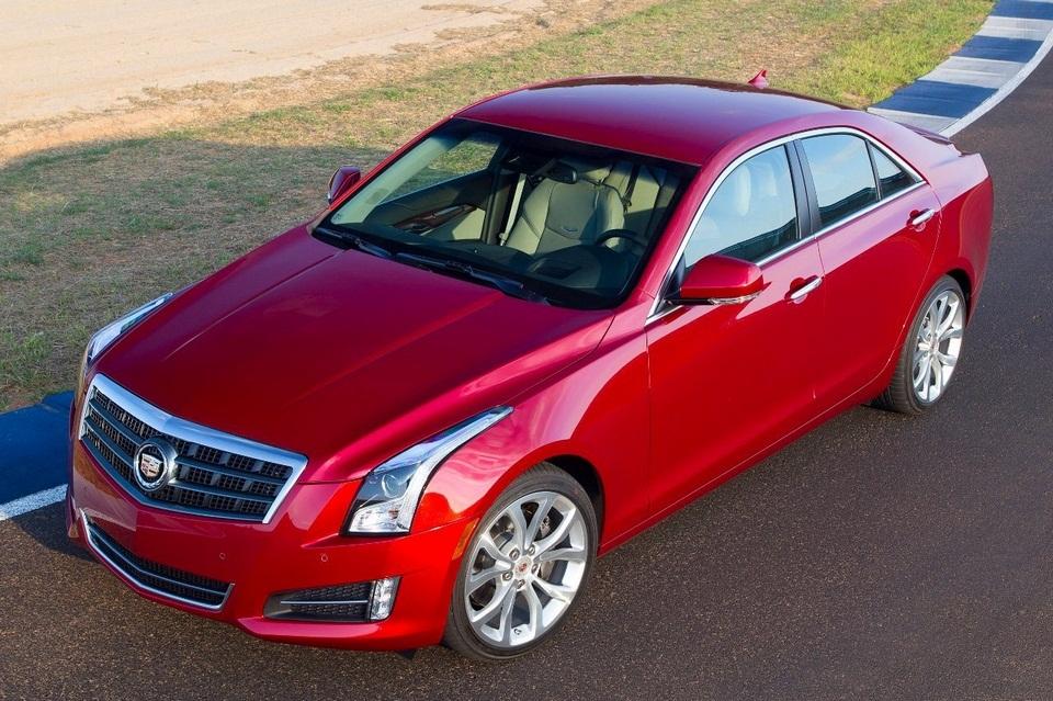 2013 Cadillac ATS (2)