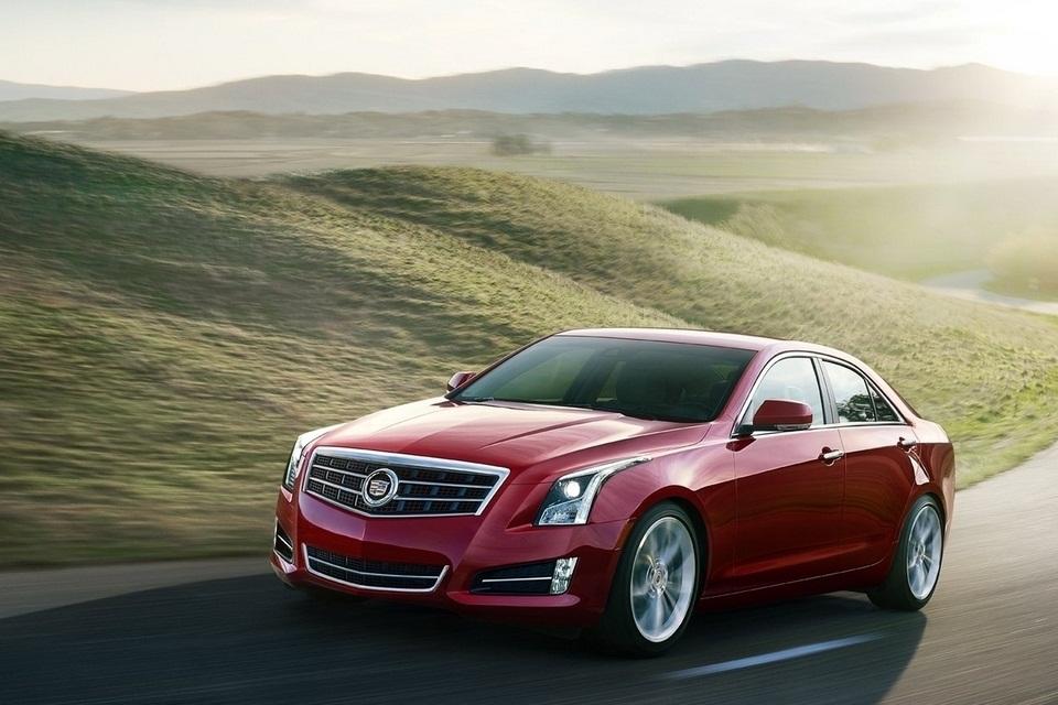 2013 Cadillac ATS (1)