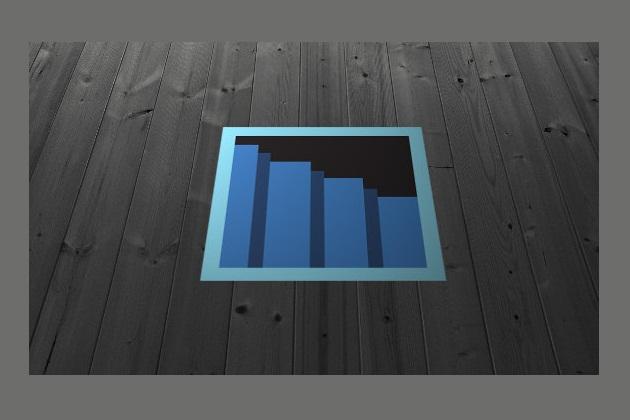 8bit Secret Passage Floor Decal