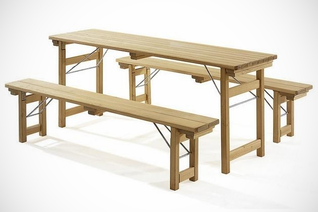 Lovely Beer Garden Bench Robinienholz