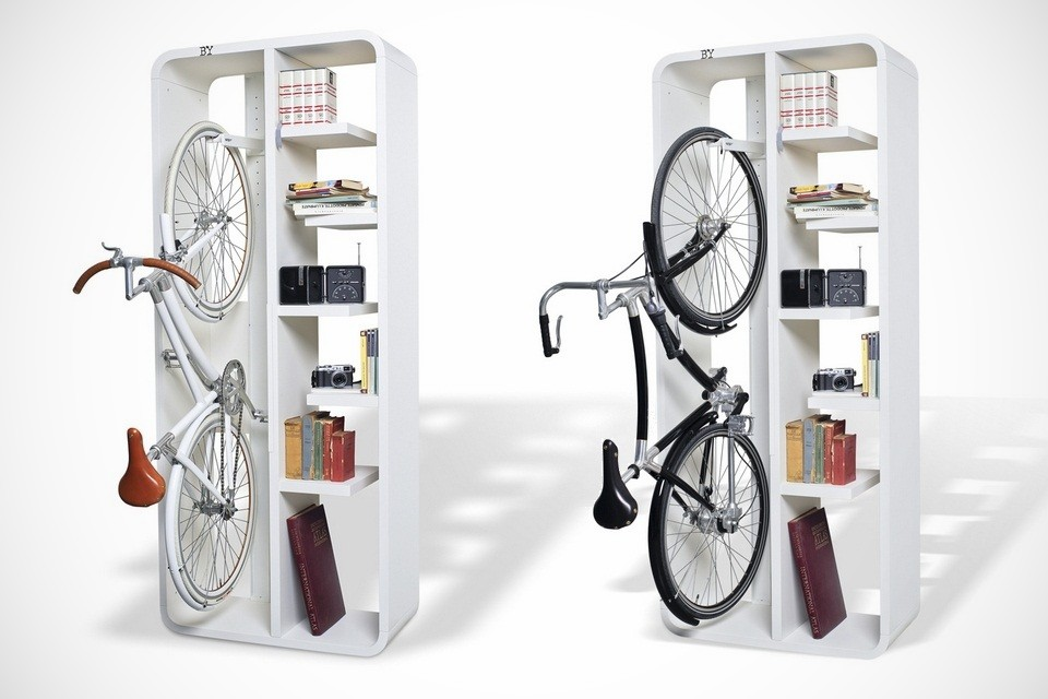 Minimal Bicycle Rack Bookbike By BYografia