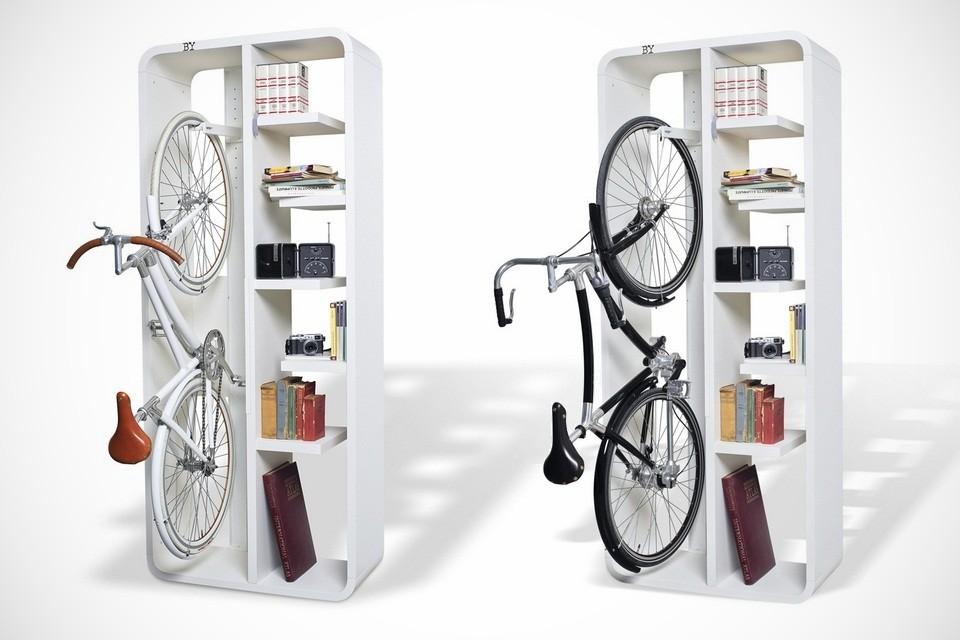 Minimal Bicycle Rack Bookbike by BYografia