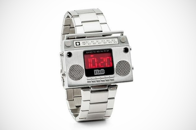 Boombox Metal Wristwatch (1)