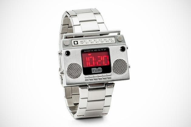 Boombox Metal Wristwatch (1)