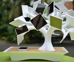 Electree - Solar Powered Bonsai Tree