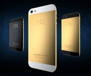 Golden Dreams Luxury iPhone 5 Collection