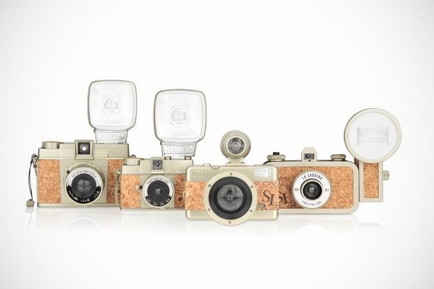 Lomography – 20th Anniversary Champagne Edition Cameras