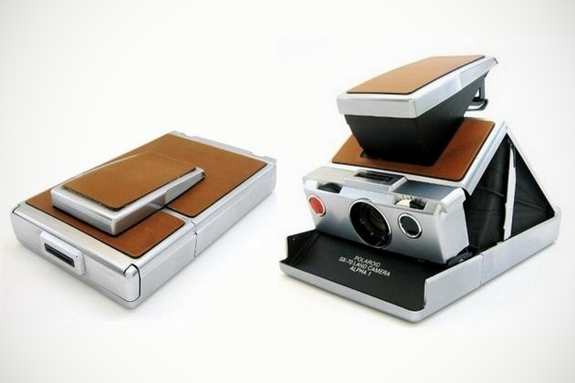 Polaroid SX-70 Alpha Instant Folding Camera (3)