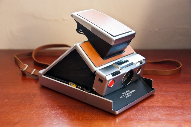 Polaroid SX-70 Alpha Instant Folding Camera (1)