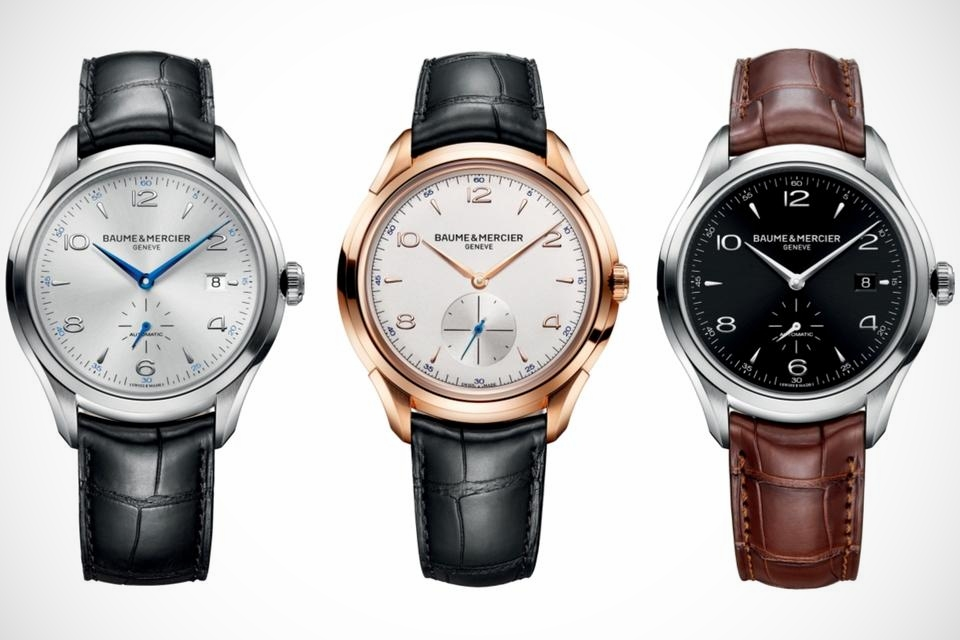 Pre SIHH 2013 Baume & Mercier Clifton Collection
