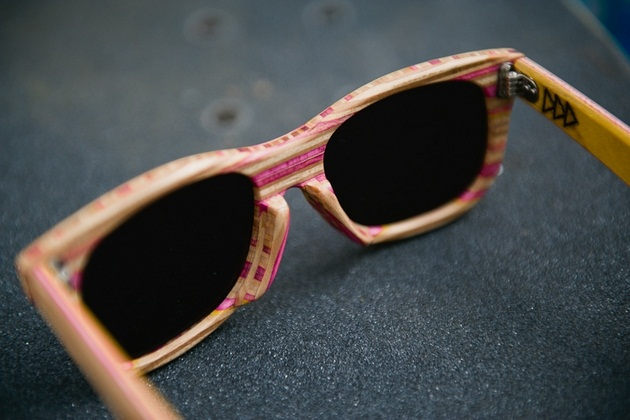Sk8 Shades - Handcrafted wooden sunglasses by Dave de Witt_BonjourLife-com (1)