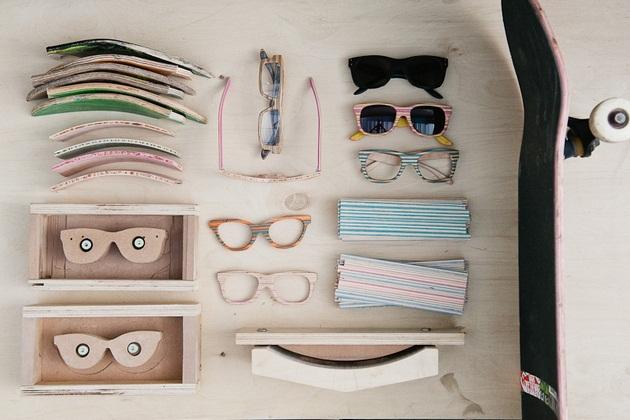 Sk8 Shades - Handcrafted wooden sunglasses by Dave de Witt_BonjourLife-com (2)