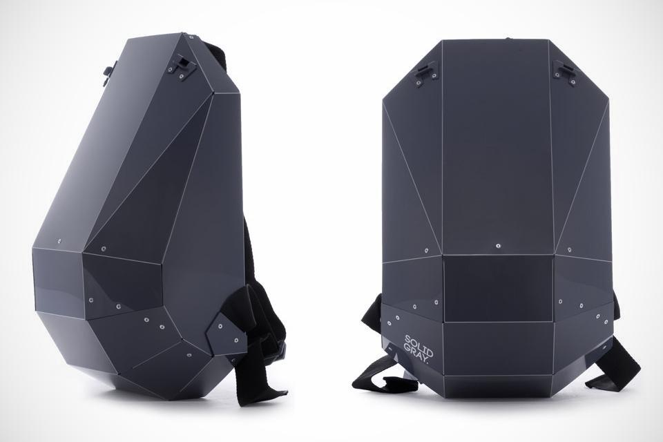 Solid Gray Backpack Collection -Bonjourlife.com (1)